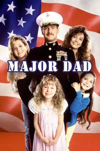 Major Dad Poster
