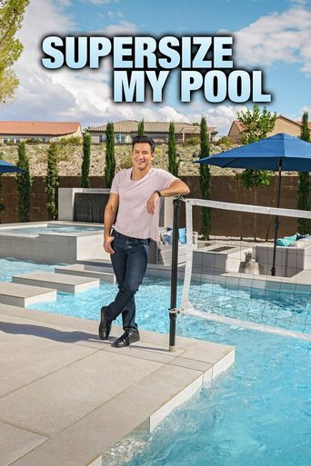 Supersize My Pool Poster