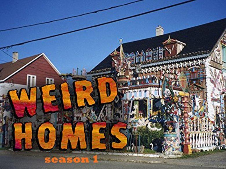 Weird Homes Poster