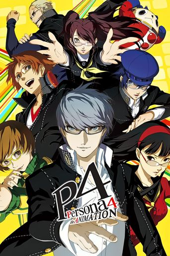 Persona 4 The Animation Poster