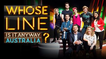 Whose Line Is It Anyway? Australia Poster