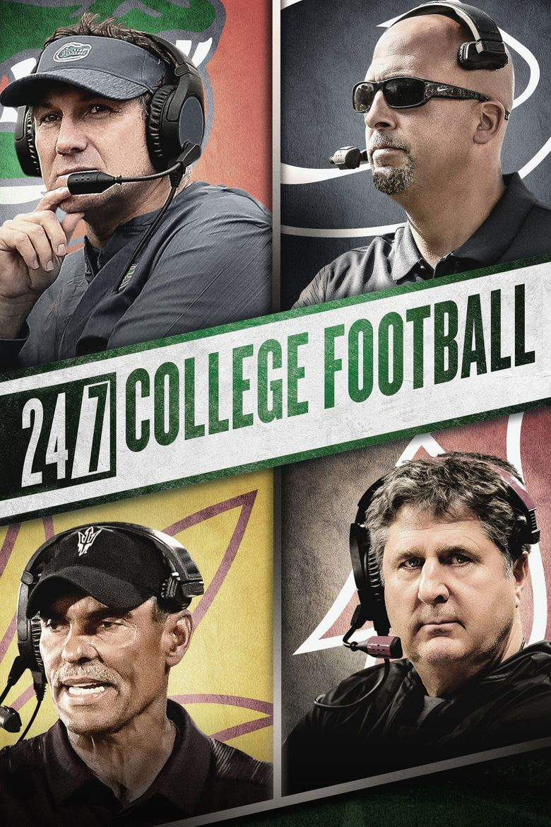 24/7 College Football Poster