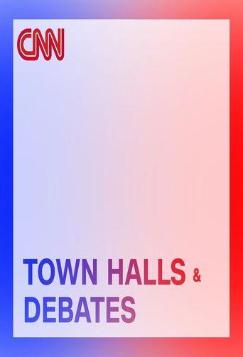 CNN Presidential Town Halls and Debates Poster