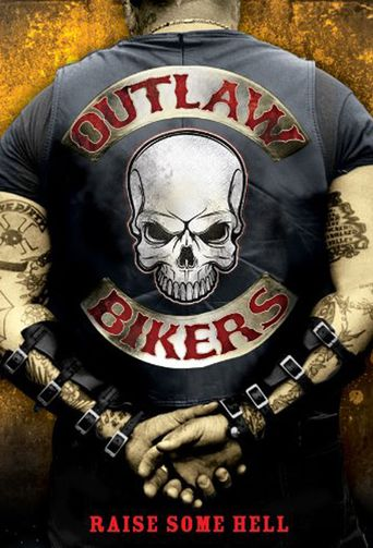 Outlaw Bikers Poster