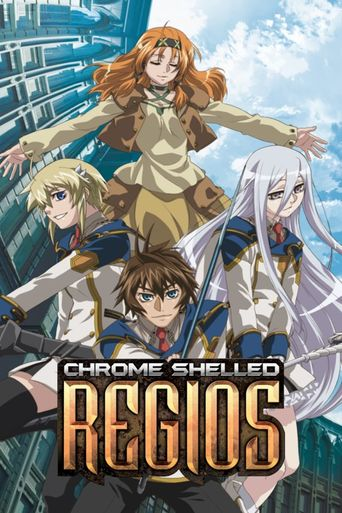 Chrome Shelled Regios Poster
