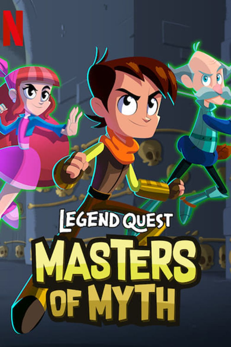 Legend Quest: Masters of Myth Poster