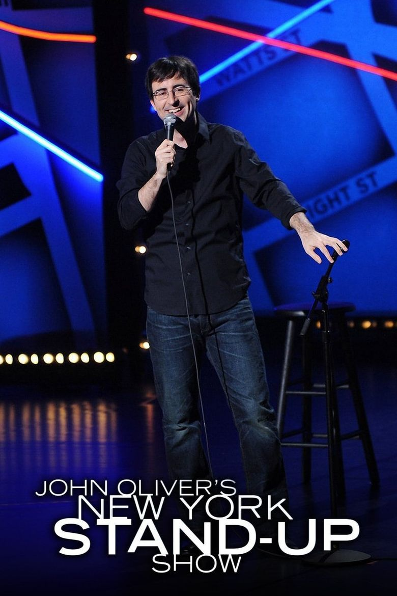 John Oliver's New York Stand-Up Show Poster