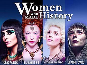 Frauen, die Geschichte machten Poster