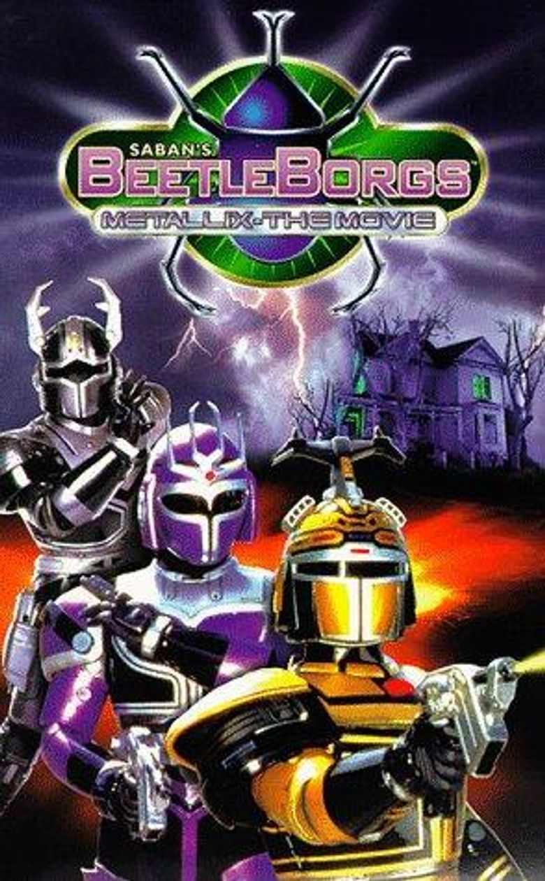 Big Bad Beetleborgs Poster