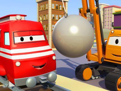 Season 01, Episode 06 Troy The Train: The Tractor / The Concrete Mixer Truck