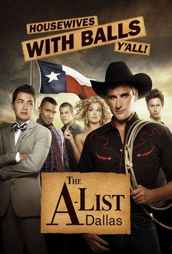 The A-List: Dallas Poster