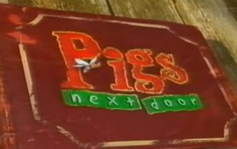 Pigs Next Door Poster