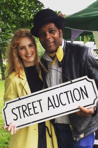 Street Auction Poster