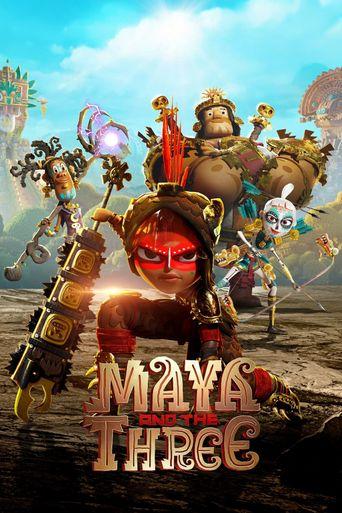 Maya and the Three Poster