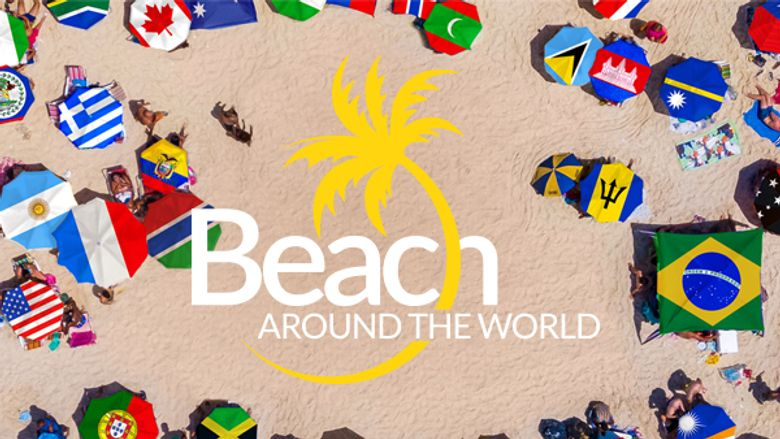 Beach Around the World Poster