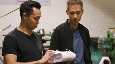 Season 01, Episode 02 $100 Sneakers Vs. $25,000 Sneakers