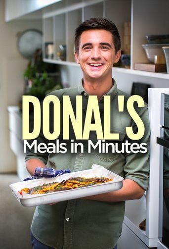 Donal's Meals in Minutes Poster