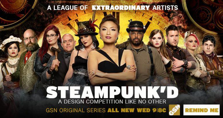 Steampunk'd Poster