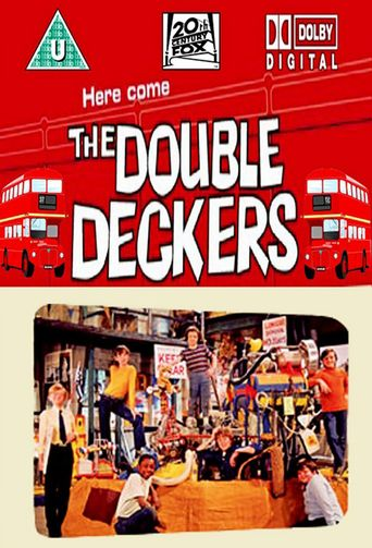 Here Come the Double Deckers Poster
