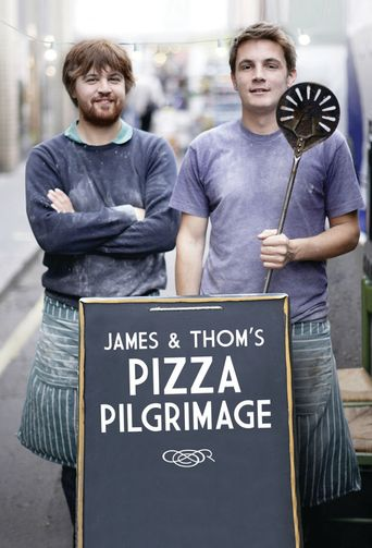 James and Thom's Pizza Pilgrimage Poster