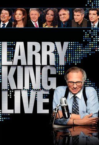 Larry King Live Poster