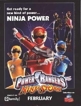 Power Rangers Ninja Storm Poster