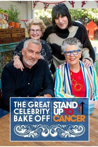 The Great Celebrity Bake Off for SU2C Poster