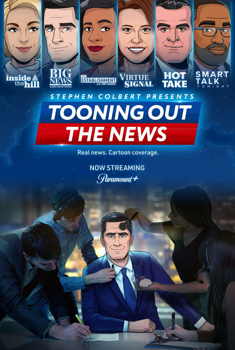 Tooning Out the News Poster