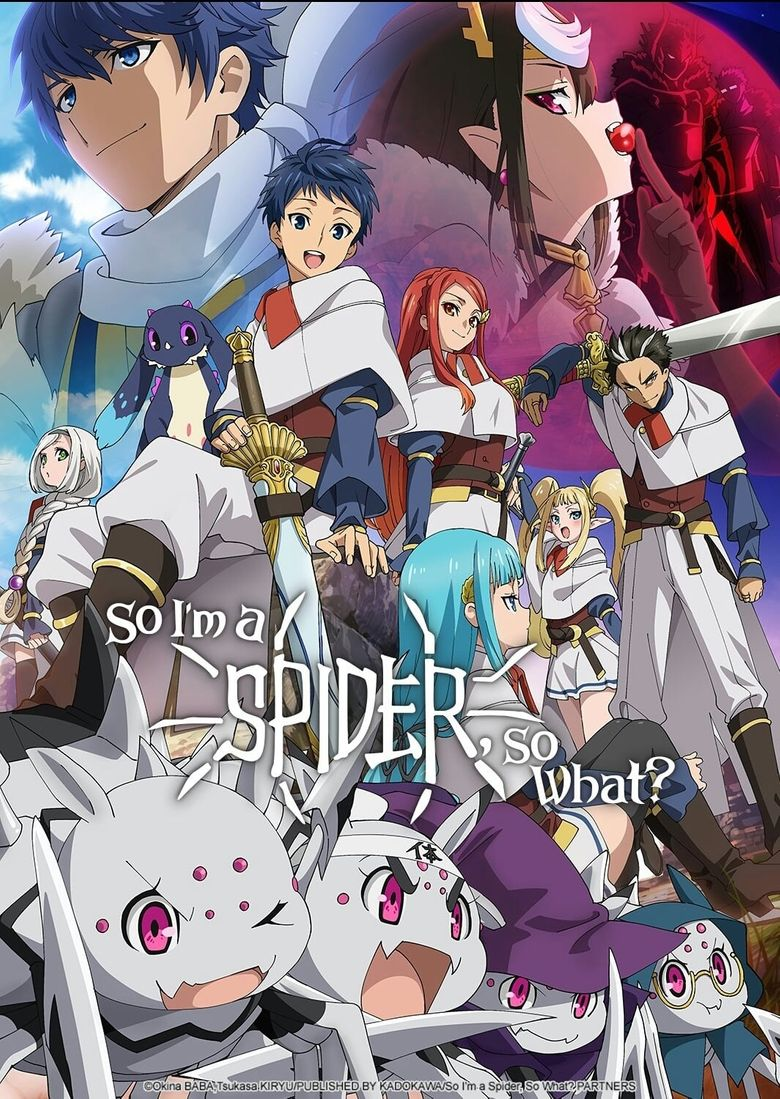 So I'm a Spider, So What? Poster