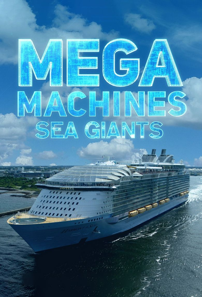 Mega Machines: Sea Giants Poster