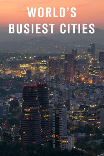 World's Busiest Cities Poster
