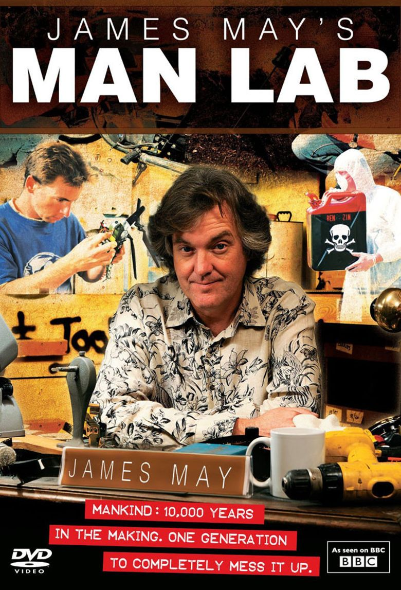 James May's Man Lab Poster