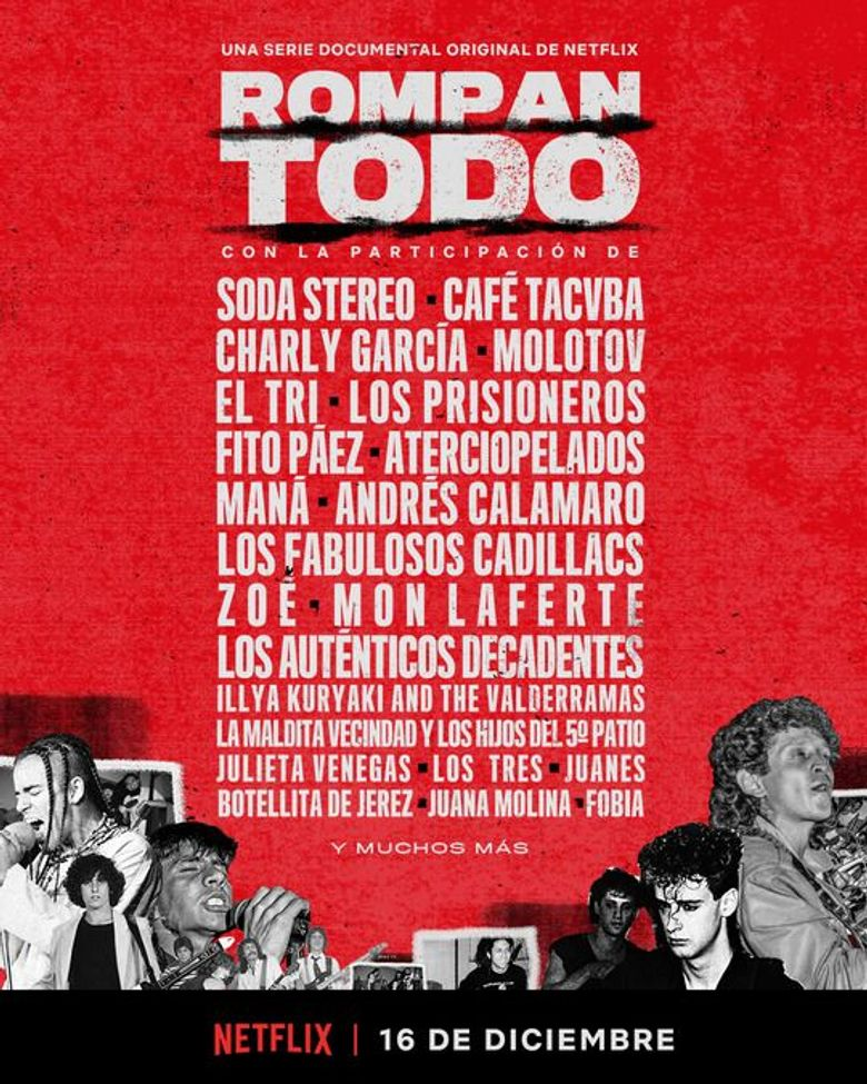 BREAK IT ALL: The History of Rock in Latin America Poster
