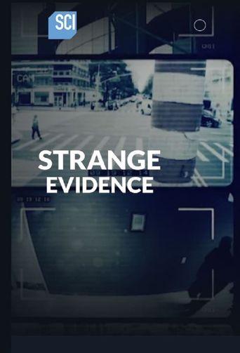 Strange Evidence Poster
