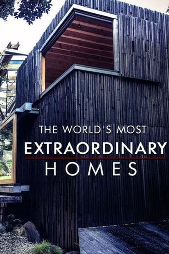The World's Most Extraordinary Homes Poster