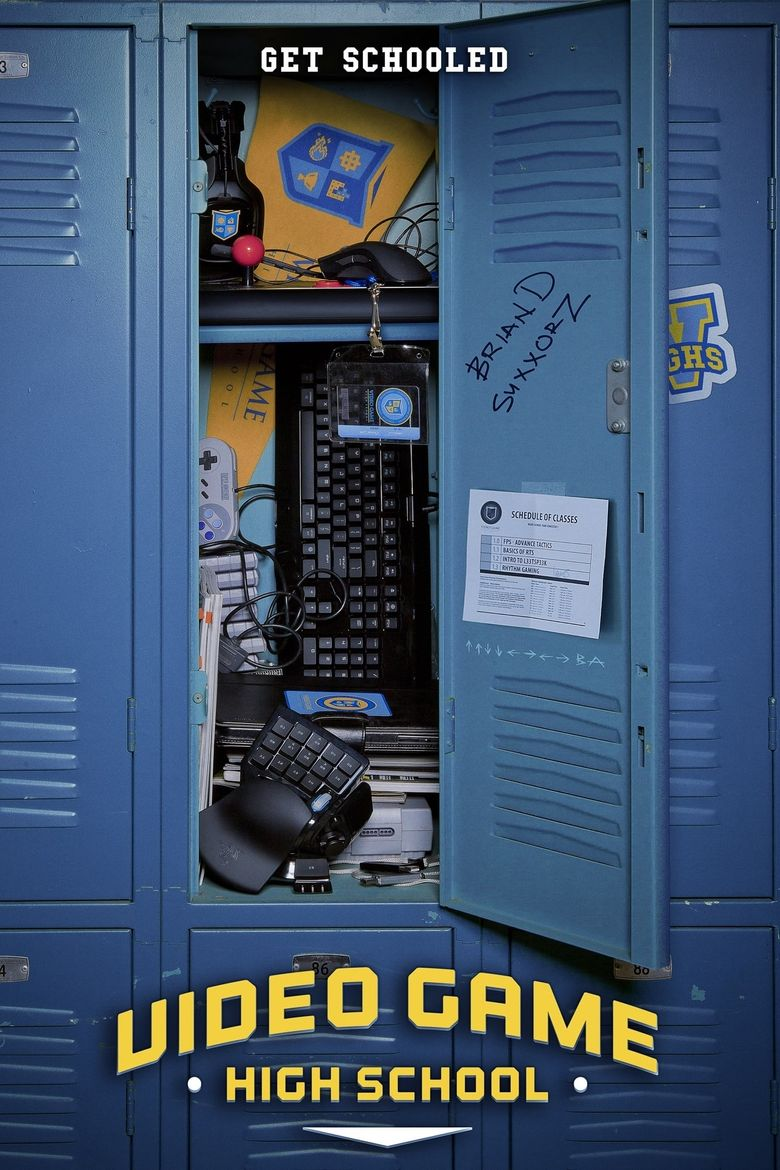 Video Game High School Poster