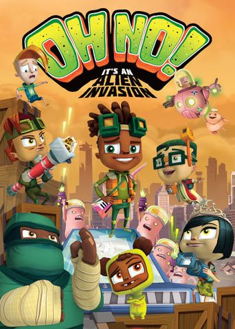 OH NO! It's An Alien Invasion Poster