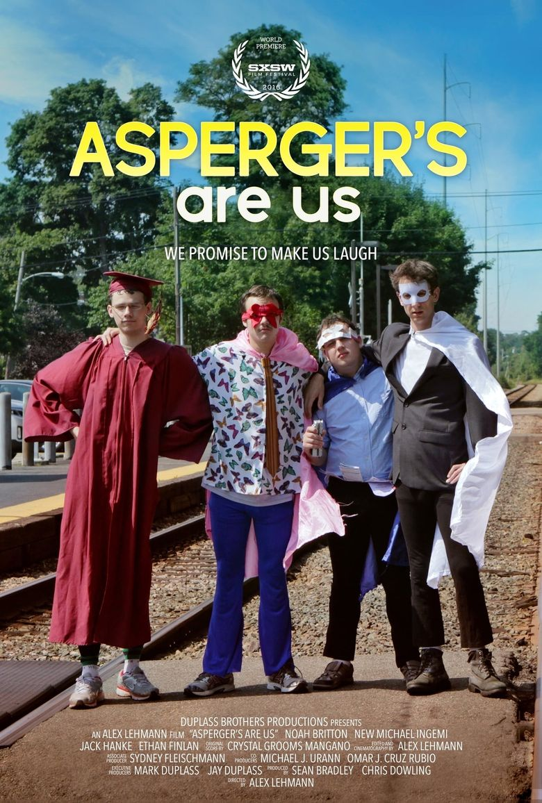 On Tour with Asperger's Are Us Poster