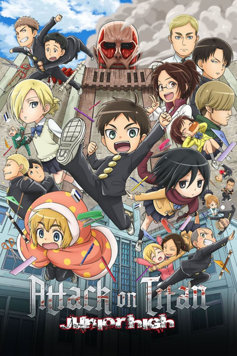Attack on Titan: Junior High Poster