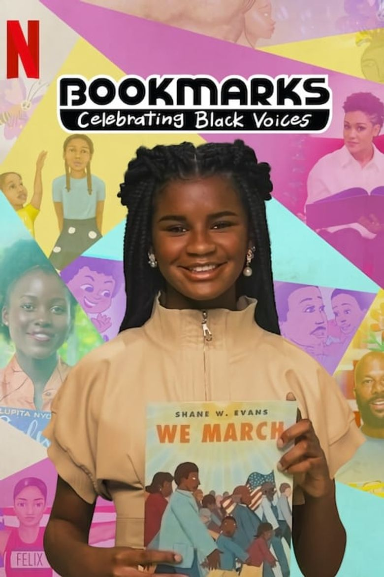 Bookmarks: Celebrating Black Voices Poster