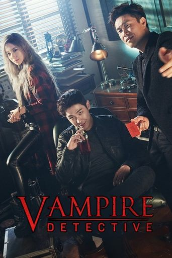 Vampire Detective Poster