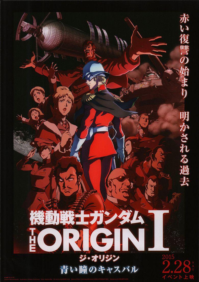 Kidô senshi Gandamu: The Origin I - Aoi hitomi no kyasubaru Poster