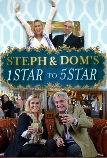 Steph and Dom's One Star to Five Star Poster