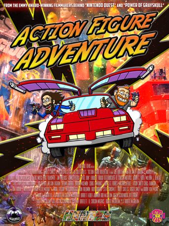 Action Figure Adventure Poster
