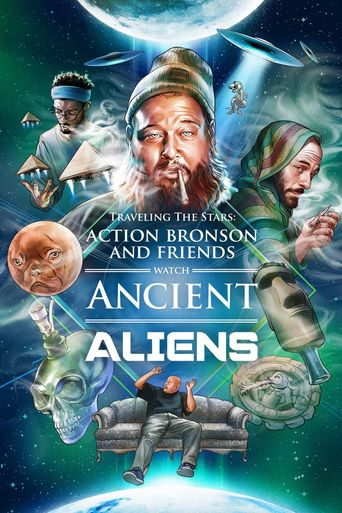 Action Bronson and Friends Watch Ancient Aliens Poster