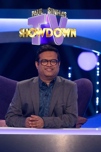 Paul Sinha's TV Showdown Poster