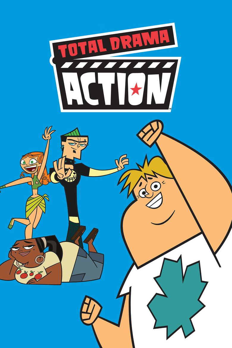 Total Drama Action Poster