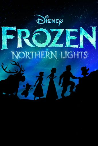 Lego Frozen Northern Lights Poster