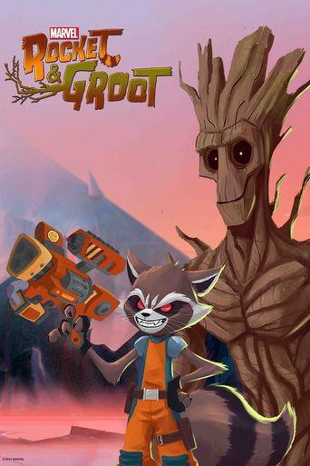 Marvel's Rocket & Groot Poster