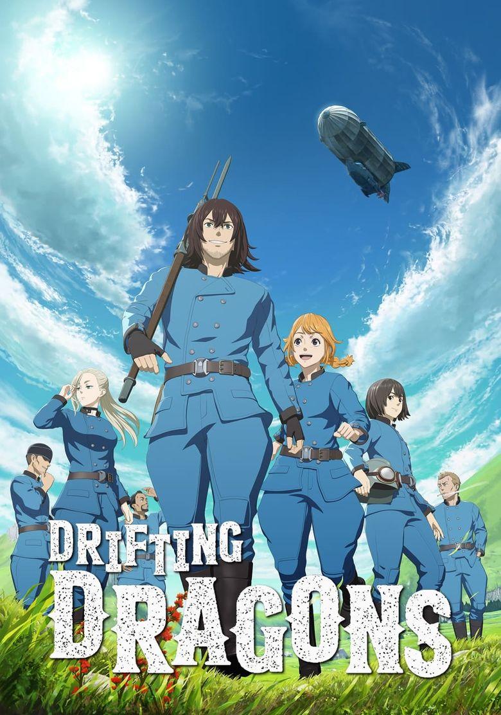 Drifting Dragons Poster
